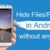 3 Best ways to Hide Files in  an Android mobile